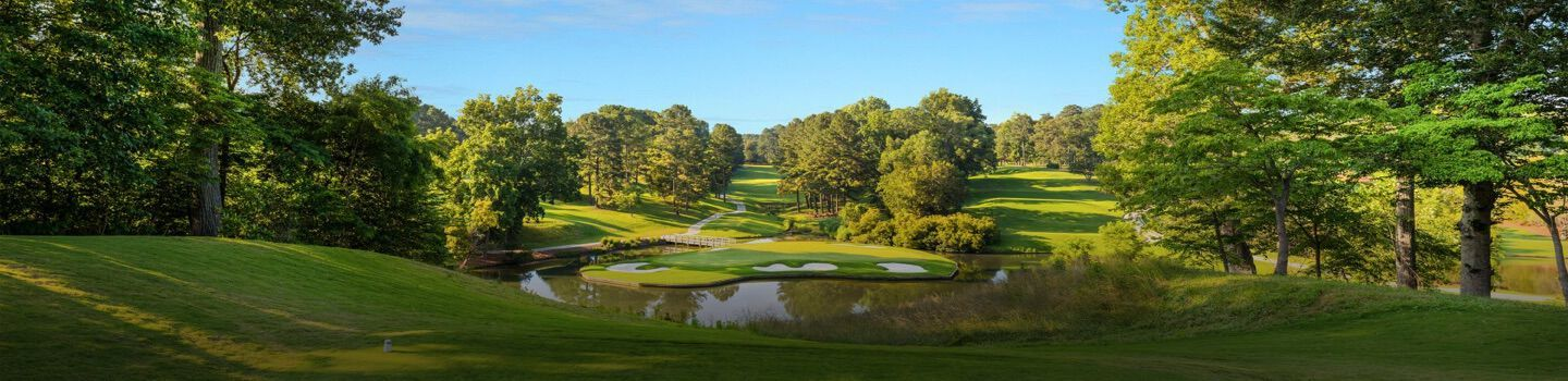 Image for Hearthstone Country Club in Houston, TX, home of the golf tournament fundraiser for St. Elizabeth Ann Seton classical Catholic school.
